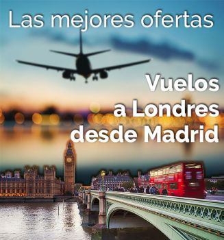 Banner Vuelos Londres Madrid